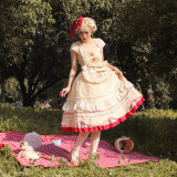 Magic Tea Party ~Yogurtpudding Lolita OP -Pre-order