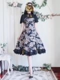 Surface Spell ~Meg Ryan Vintage Fake Two Piece Lolita OP -Pre-order