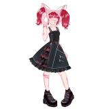 Dim Light Punk Lolita JSK -Pre-order