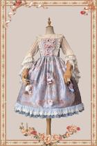 Infanta Lolita ~ Pompadour Lolita Printed JSK -Pre-order