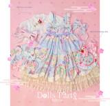 Cream Cake Kimono Style Lolita JSK Short Version -Pre-order