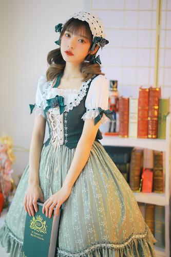 Alpine Maiden Lolita OP/JSK -Pre-order
