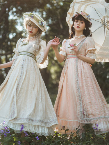 Miss Point ~ Salley Garden 2.0 Empire Dailywear Lolita OP -Custom Tailor
