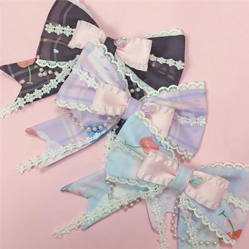 Cream Cake Kimono Style Lolita Accessories -Pre-order