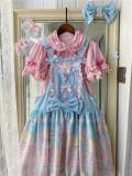 CCat Rainbow Doll House Sweet Lolita Salopette -Pre-order
