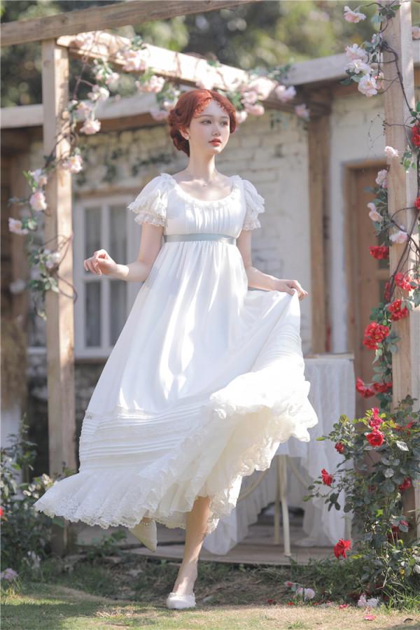 Walking In The Air ~Empire Chiffon Lolita OP -Pre-order