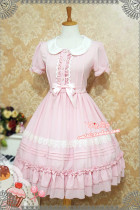 Strawberry Witch Classic Lolita OP bust 97;waist 87 - In Stock