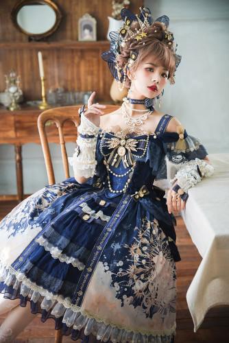 Miracles Lolita ~Queen In The Clouds Elagant Lolita JSK -Pre-order