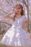 Alice Girl ~The Young Girls' Party Sweet Lolita OP -Pre-order