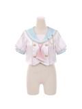 Tommy Bear ~Stargirl Sailor Style Lolita Top + Skirt Set