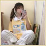 A Day Trip to an Island Lolita Short Sleeves T-shirt
