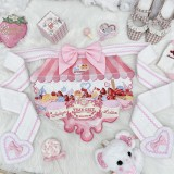 Butterfly Wing Sweetheart Embroidery Lolita Blouse/Moore's Ice Cream Shop Lolita Apron -Pre-order