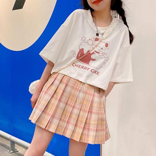 Peach Bomb Sweet Loose T-shirt