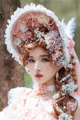 Elven Fairy Elegant Chiffon Lolita Accessories -Pre-order