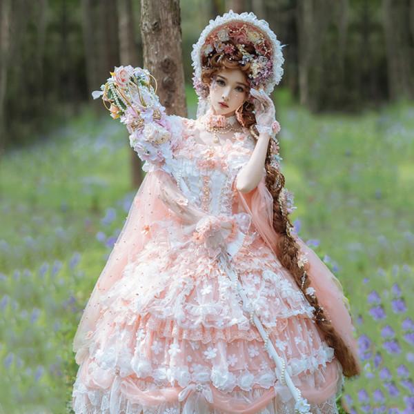 Elven Fairy Elegant Chiffon Lolita JSK -Pre-order