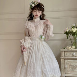 Miss Point ~Tulipa Vintage Lolita Skirt -Pre-order
