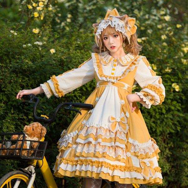 YUPBRO Lolita ~Summer Ramune Lolita OP -Pre-order