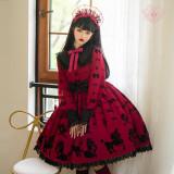 Angels Heart Lolita ~Cute Poodle Lolita OP/Blouse -Pre-order