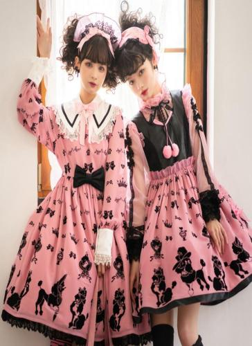 Angels Heart Lolita ~Cute Poodle Lolita JSK -Pre-order