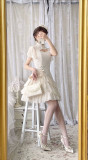 Alice Girl ~Fair Lady Cheongsam Lolita OP -Pre-order