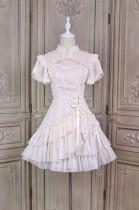 Alice Girl ~Fair Lady Cheongsam Lolita OP -Pre-order