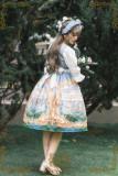 CEL Lolita ~To Alice Oil Painting Printed Lolita JSK -Pre-order