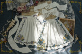 CEL Lolita ~To Alice Oil Painting Printed Lolita Accessories -Pre-order