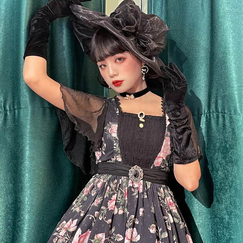 Miss Point ~French Rose Classic Lolita OP -Pre-order