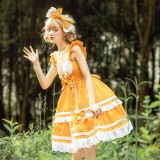 Hansel and Gretel Daily Wear High Waist Lolita JSK -Pre-order