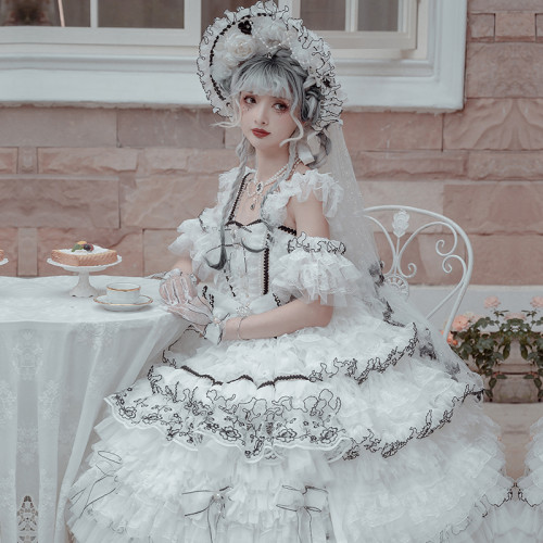 The Night of Stars Elegant Lolita JSK