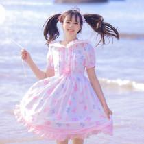 Magic Tea Party ~Jelly Bear Daily Wear Sweet Lolita OP -Pre-order