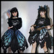 The Butterfly Effect ~Punk Halloween Lolita Skirt