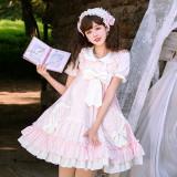 To Meet the Forest Sweet Lolita High Waist JSK -Pre-order