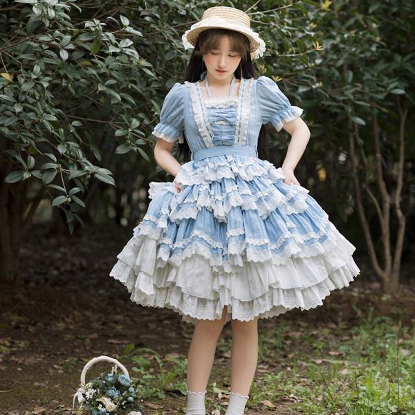 Withpuji ~Sea Salt Maiden Dolls Lolita OP