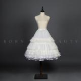 YUPBRO Lolita ~Super Puff Fishbone Lolita Petticoat Short/Long Version -Pre-order