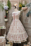 Miss Point ~The Beauty of Spring Flower Wall Lolita JSK -Pre-order