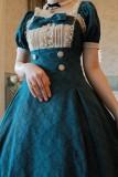Rose Waltz by Aurora Borealis Elegant Lolita OP -Pre-order