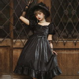 Foglight Vintage Slim High Waist Lolita OP -Pre-order