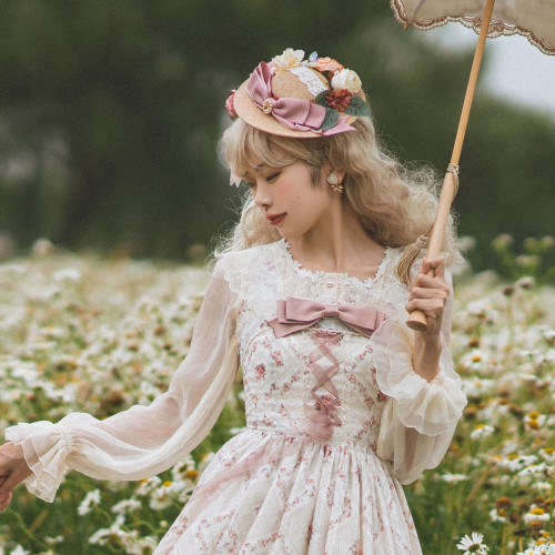 Miss Point ~The Beauty of Spring Retro Edward Lolita Blouse -Pre-order