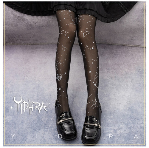 Yidhra Lolita ~Flight Between Star 20D Lolita Tights