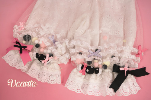 Vcastle ~ Icing Sugar Lolita Blouse/Bloomer -Ready Made