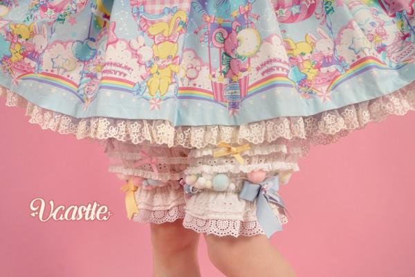 Vcastle ~ Icing Sugar Lolita Blouse/Bloomer -Pre-order