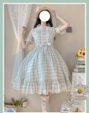 Strawberry Witch Summer Embroidery Lolita JSK -Pre-order
