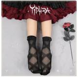 Yidhra Lolita ~Ribbon Shape Lolita Short Socks
