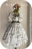 Moon River ~Camellia Vintage Flowers Lolita OP -Pre-order