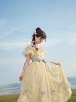 The Runaway Princess Vintage Lolita OP Long Version -Pre-order