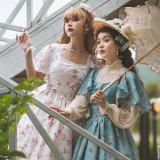 Miss Point ~Begonia Under the Moon Elegant Classic Lolita OP -Pre-order