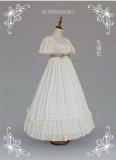 Soufflesong Lolita ~Wendie's Afternoon Tea Elegant Lolita OP -Pre-order