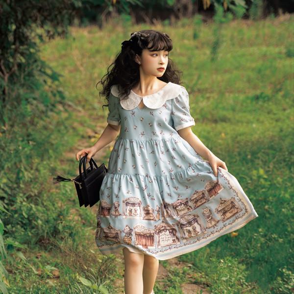 Magic Tea Party ~Box of the Theatre Classic Lolita OP -Pre-order