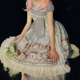 Magic Tea Party ~Box of the Theatre Normal Waist Lolita OP -Pre-order